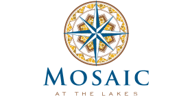 Logo for the Mosaic at the Lakes community